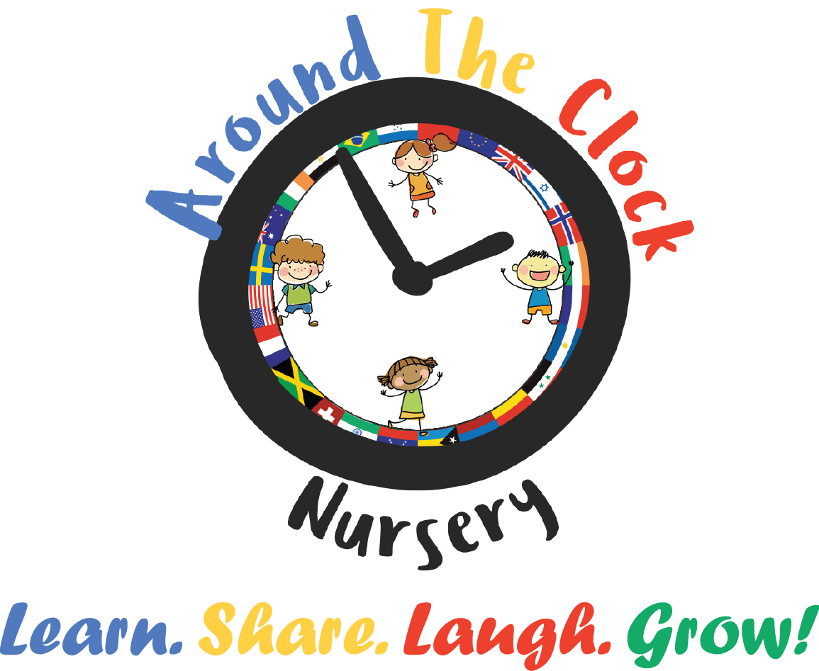 Around The Clock Nursery Logo